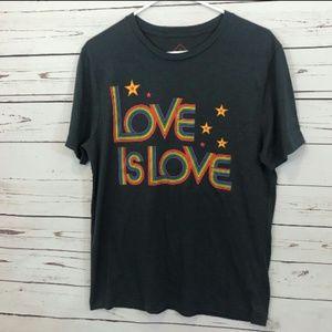 Well Worn Love is Love tee shirt size M